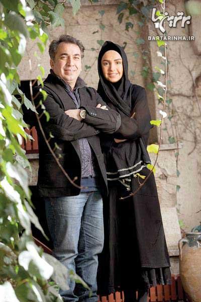 سیامک انصاری و همسرش از یک سال زندگی مشترک ميگویند