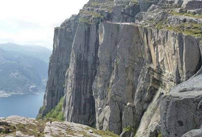 جاذبه توریستی نروژ,نروژ,Preikestolen جاذبه توریستی نروژ