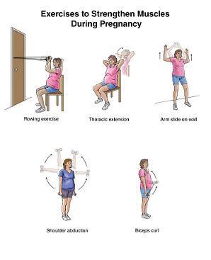 حرکات ورزشی برای بهبود کمردرد بارداری