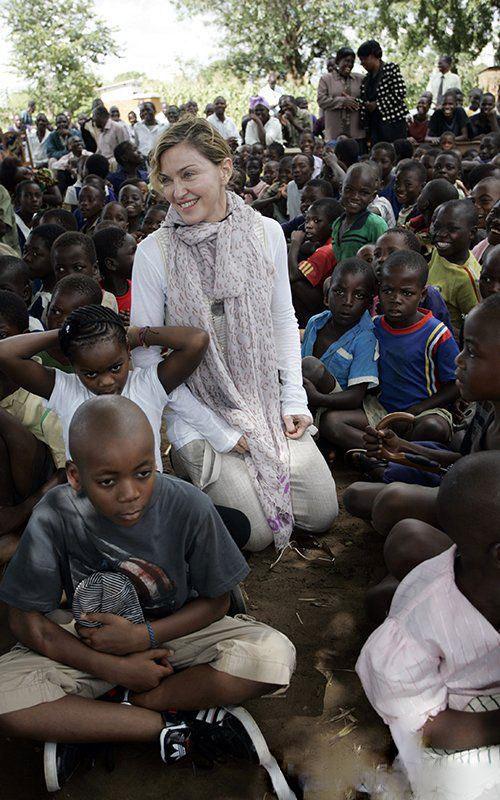 عکس مدونا و فرزندانش