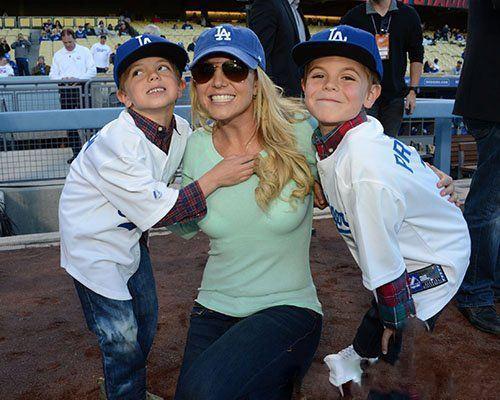 بریتنی اسپیرز و فرزندانش