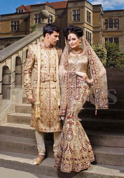 لباس عروس هندی