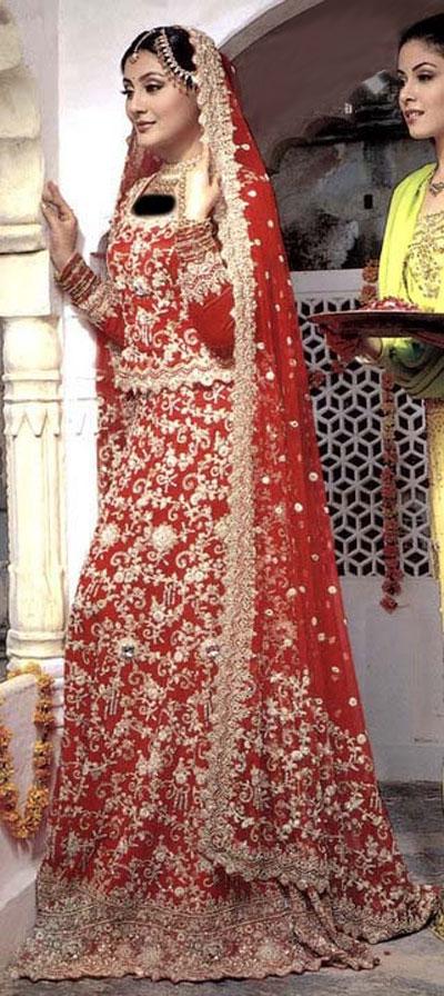 لباس عروس پاکستانی