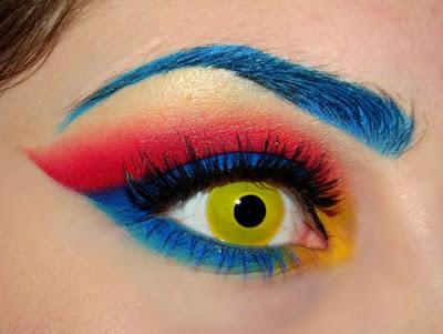 سایه چشم خط چشم