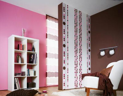 مدل کاغذ دیواری با طرحهای زیبا