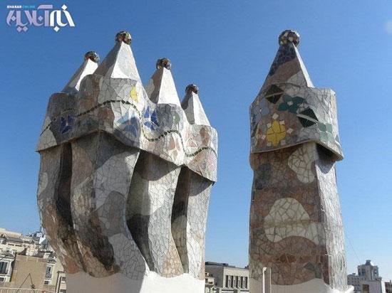 زیباییهایعجیبشهربارسلونا