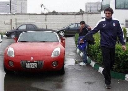 خودروی فوتبالیستها, ماشین فوتبالیستها