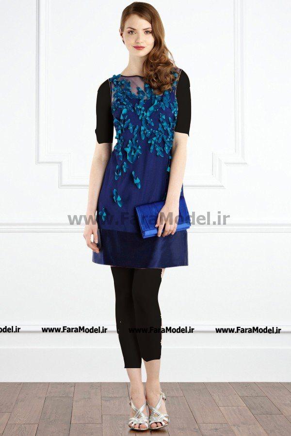 مدل لباس مجلسی دخترانه ساده مخصوص بهار