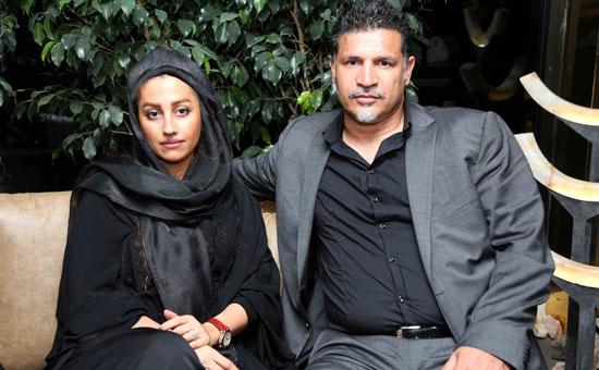 عکس علی دایی و همسرش