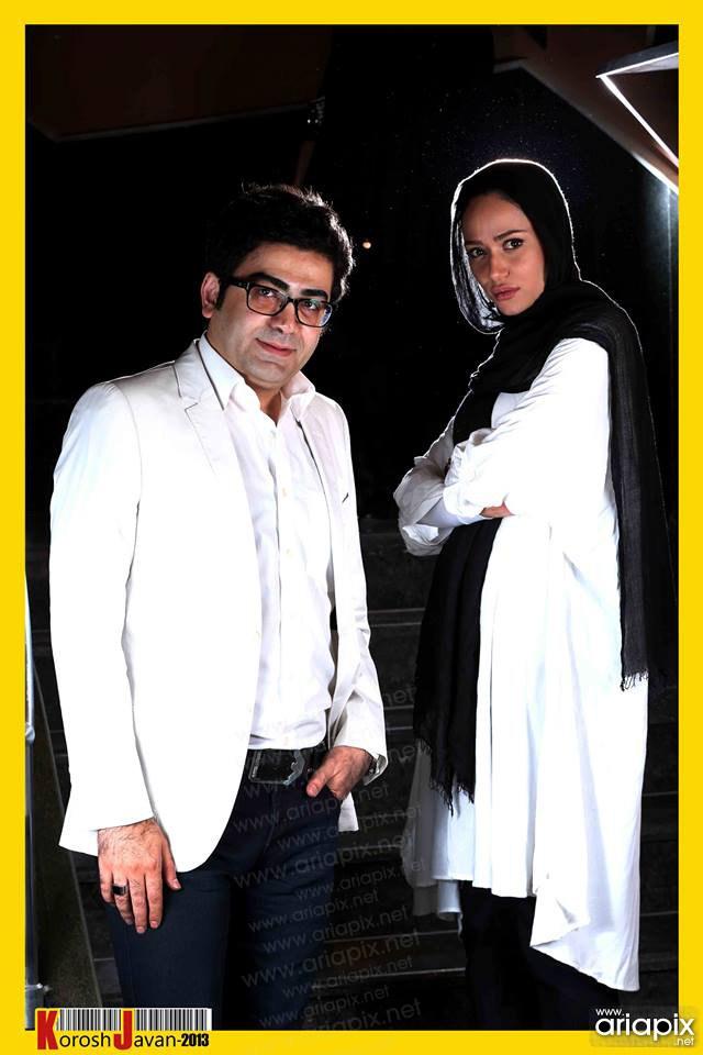 فرزاد حسنی و پریناز ایزدیار / خرداد ۹۲