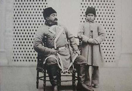 اپوشش 100سال قبل ایرانیان,پوشش مردان در 100 سال قبل