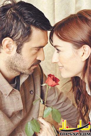 عکس حسین کنان در سریال از بوسه تا عشق