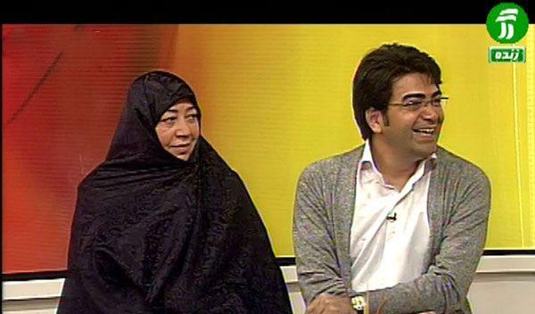 فرزاد حسنی و پدر و مادرش