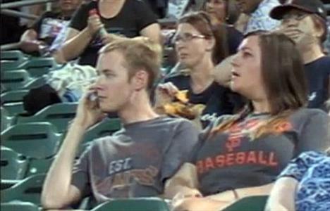 ضایع کردن دوست پسر, دوست پسر و دوست دختر درر ورزشگاه