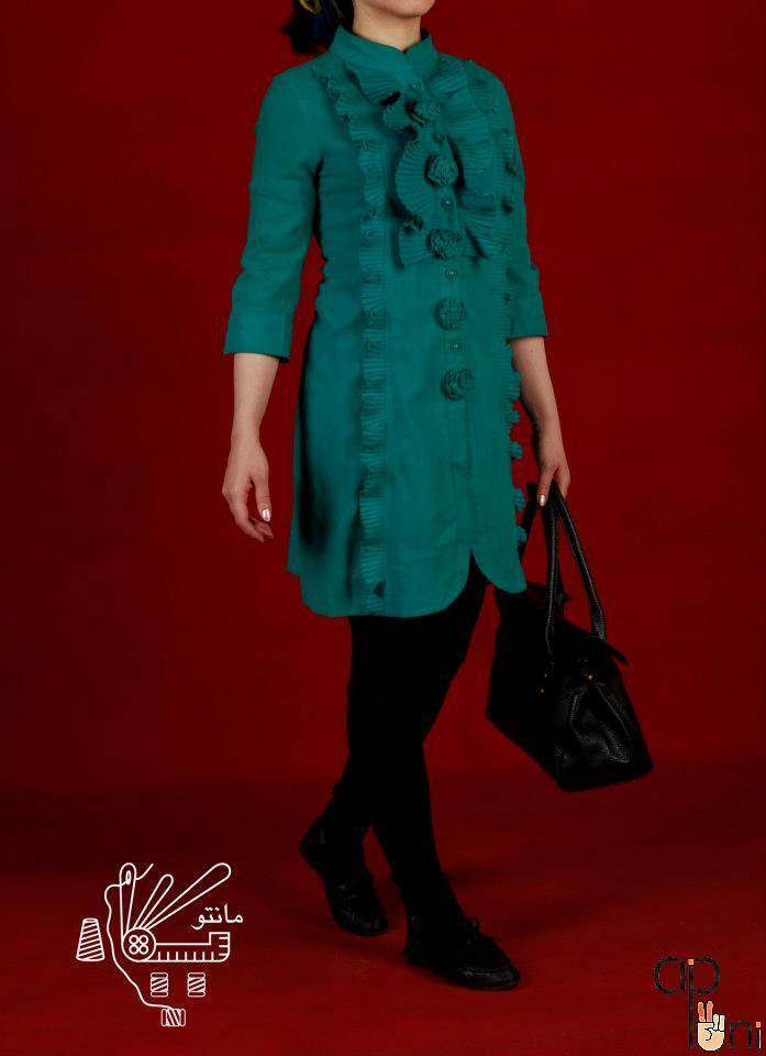 جدیدترین و زیباترینو شیک ترینمدل های مانتو مارک2015
