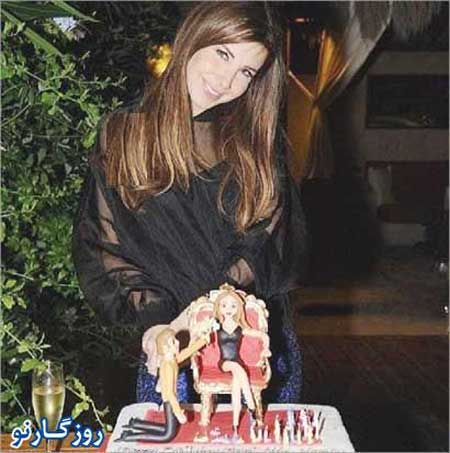 جشن تولد نانسی عجرم,تصاویر جشن تولد نانسی عجرم