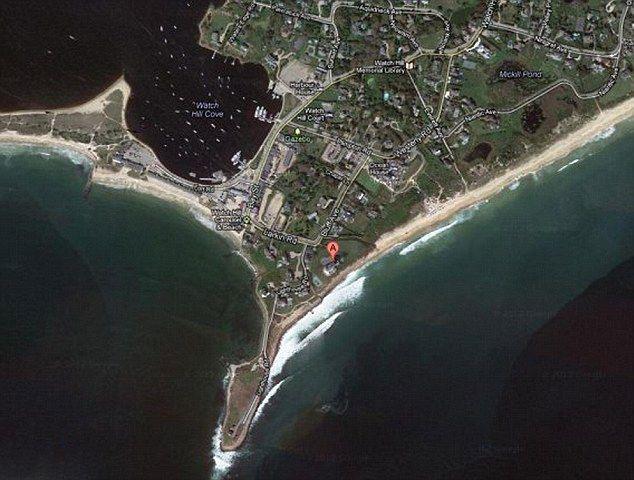عمارت ساحلی تیلور سوئیفت