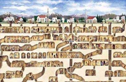 شهرهای زیرزمینی, شهرهای زیرزمینی ایران, شهرهای زیرزمینی جهان