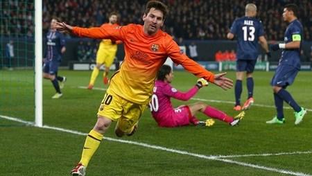 لیونل مسی از بارسلونا با 8 گل زده