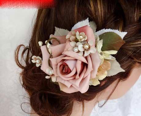 مدل تاج و گل سر عروس 2013