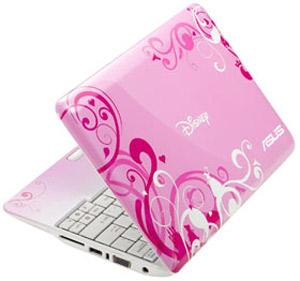 لپ تاپ برای خانم ها  دیزنی ایسوس