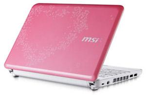 لپ تاپ برای خانم ها  MSI
