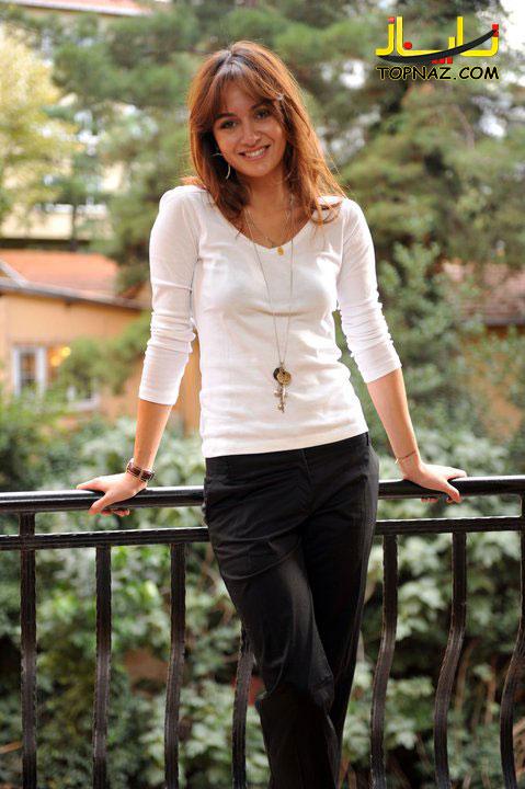 عکسهای بیرجه آکالای بازیگر حوا در سریال شمیم عشق