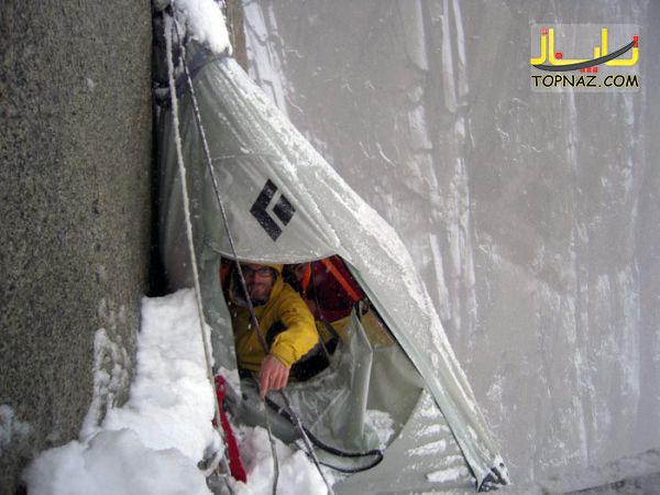 خطرناک ترین مکان برای چادر زدن