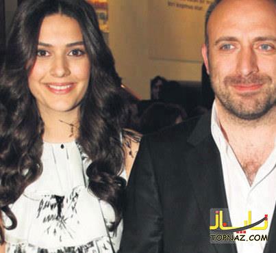 خالد ارگنچ و همسرش