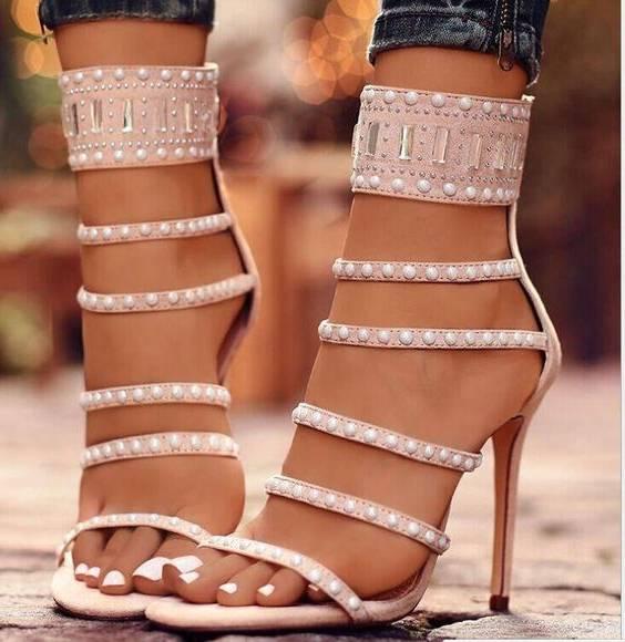 مدل کفش پاشنه بلند مجلسی