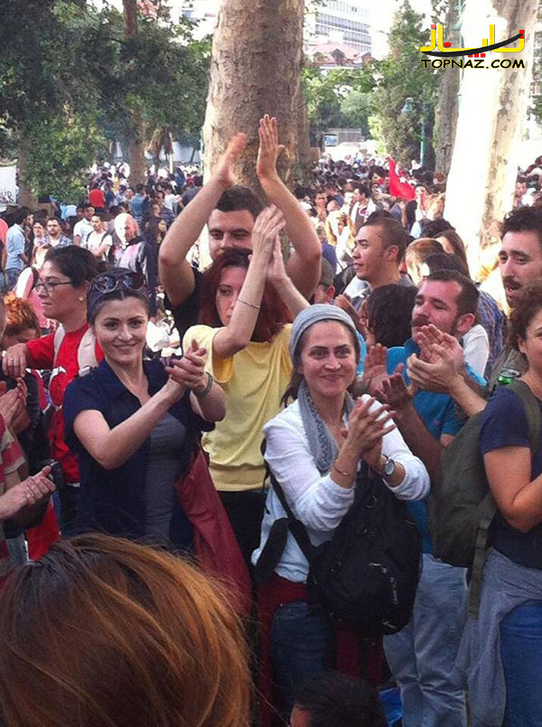 بازیگران ترکیه در اعتراضات
