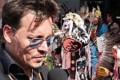 جانی دپ در میان قبایل سرخپوست آمریکایی +عکس