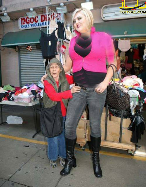 عکسهای جالب دختر قدبلند