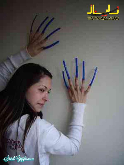ناخن درازترین زنان دنیا