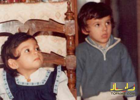 پرستو صاحلی و برادرش