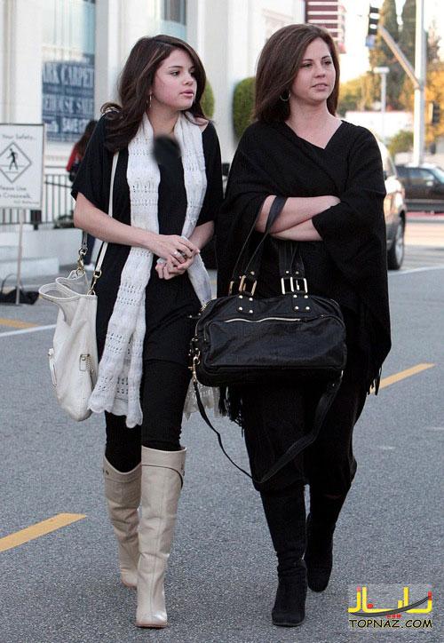 عکسهای جدید سلنا گومز و مادرش