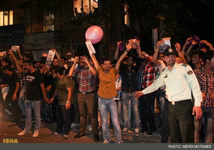 عکس طرفداران حسن روحانی
