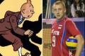 شباهت جالب ورزشکاران معروف به شخصیت کارتونی +عکس