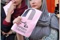 عکس هانیه توسلی و طناز طباطبایی مقابل خانه سینما