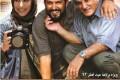 عکس مهتاب کرامتی و حامد بهداد روی یک پوستر
