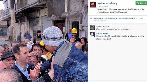 عکس بشار اسد و همسرش