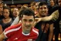 عکس تماشاگران بازی والیبال ایران و ایتالیا