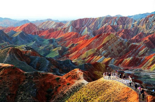 اراضی زانی دانزیا، چین