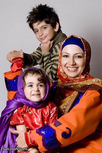 خاله شادونه و بچه هایش