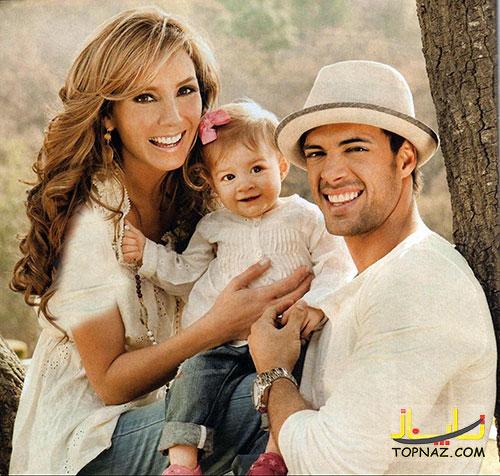 Elizabeth Gutierrez With William Levy 1 عکسهای النا بازیگر سریال روح النا و همسرش واقعی اش