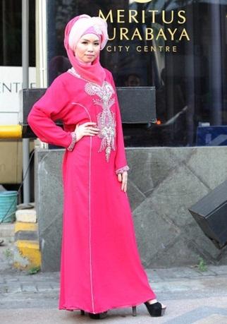 شوی لباس زنانه مدل اسلامی در اندونزی