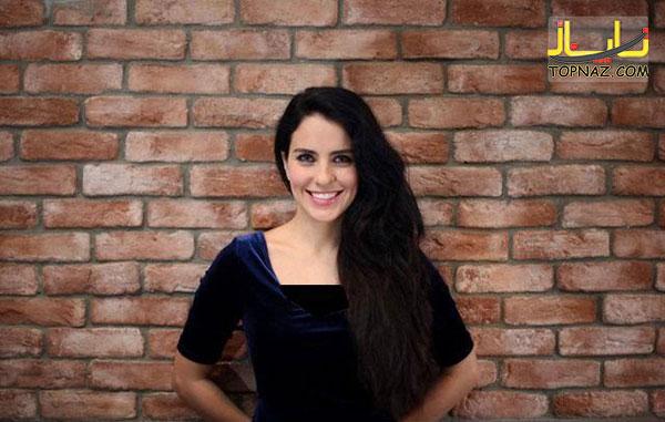 عکس لامیا در سریال از بوسه تا عشق
