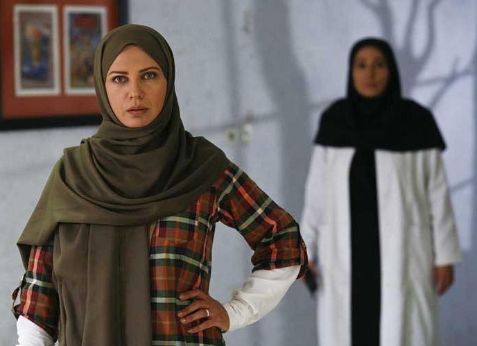لعیا زنگنه در سریال مادرانه