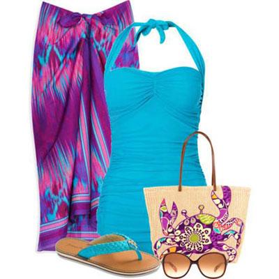 زیباترین ست لباس تابستانه برای خانمها