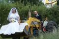 ماشین عروس این شکلی دیده بودید؟!